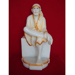 Gold Plated Sai Baba Idol