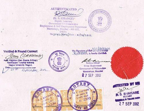 pune university degree certificate sample images