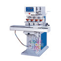 Big Size 4 Color Pad Printing Machine with Conveyor