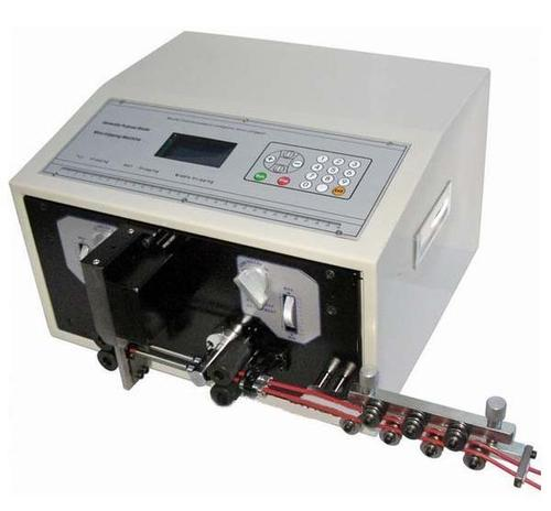 Automatic Wire Cutting And Stripping Machine Dual Feed