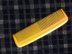 Yellow Pocket Comb
