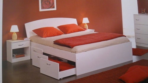 Laminate Furniture Laminate Bed Wholesale Trader From