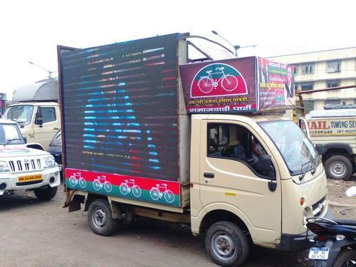 LED Video Van on Rent