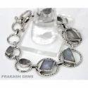 Bracelet of Labradorite Gems