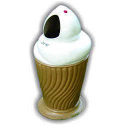 FRP Ice Cream Dust Bin