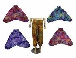 Indian Harem Trouser Pant Yoga Wear Pants