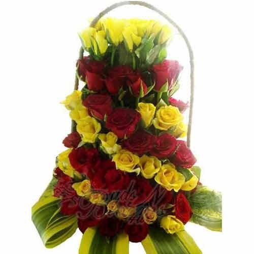 Yellow and red rose bouquet red rose bouquet super mart part yellow and red rose bouquet mightylinksfo