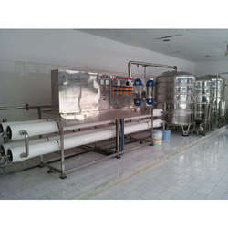 Reverse Osmosis Water Purification Plants