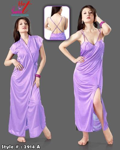 Stylish N Hot Two Pcs Nighty - View Specifications   Details of ... aa34e1249