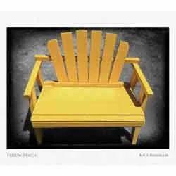 Jost Yellow FRP Bench