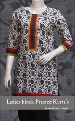 Ladies Block Printed Kurti