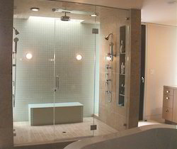 Bathroom Glass Partition glass shower partition & glass partitions - glass partition for