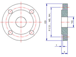 Flange and Pipe Dimensions