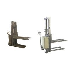 Stainless Steel Pallet Stackers