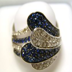 Gold Diamond Designer Ring