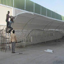 Parking Shed Fabrication