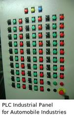 PLC Industrial Panel for Automobile Industries