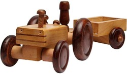 Brand 3-5 Yrs Wooden Tractor Toy, for kids