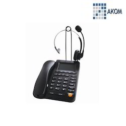 Telephone Dial Pad with Headset