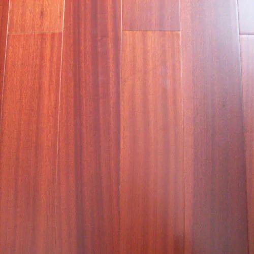 Eurowood Reddish Engineered Sapele Wood Flooring Rs 300 Square