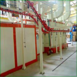 Conveyorised Paint Booths