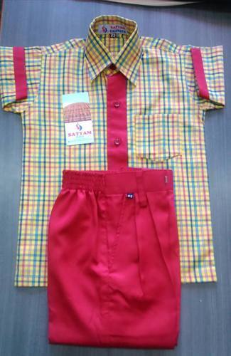 School Uniform - School Uniform Check Cloth Manufacturer from Jaipur
