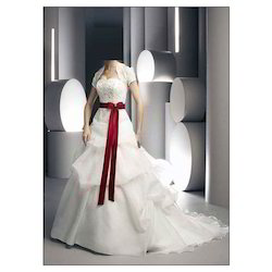 Bubble Skirt Wedding Gown