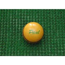English Leather Yellow Ball