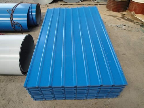 Colour Coated Roofing Sheets View Specifications