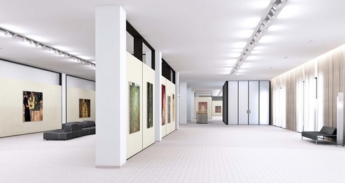 Nice Art Gallery Interior Designing Services