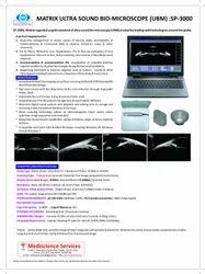 Matrix Ultrasound Bio-Microscope (UBM), for Hospital