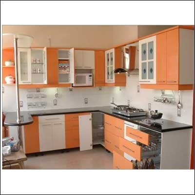 Furniture cupboard design for kitchen stainless steel for Kitchen trolley designs for small kitchens