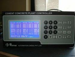 Cement Concrete Plant Controller