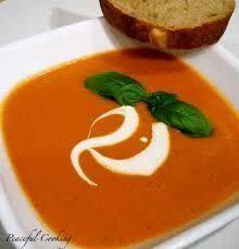 Tomato Cream Soup Catering Services
