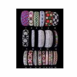 Colorful Lac Bangle Set