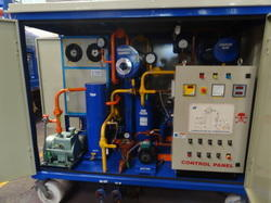 Portable Lube Oil Purifier Plant