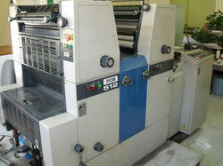 Used Ryobi 512 Two Color Offset Printing Machine