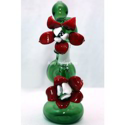 Glass Smoking Bubbler Pipe