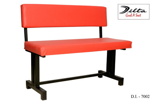 Delta Restaurant Booth 3 Seater Seating Bench