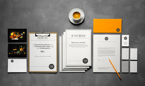 Printed Stationery Paper Printed Restaurants Stationery