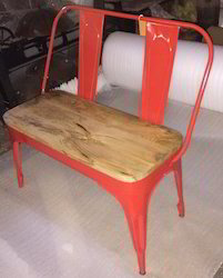 Industrial Furniture Iron Bench