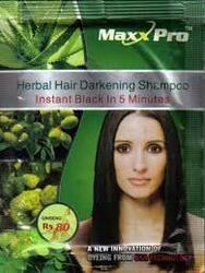Black Hair Color Shampoo Max Pro