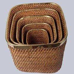 Cane Dustbin