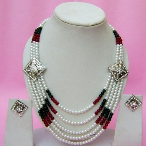 Designer Pearl Necklace   Maqsad Jewellery   Manufacturer in ...