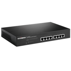 8-Port Fast Ethernet Switch With 4 PoE  Ports