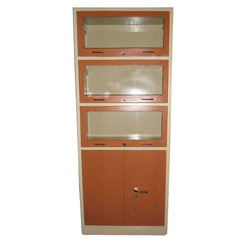 3 Glass Frame Cum Almirah Bookcase