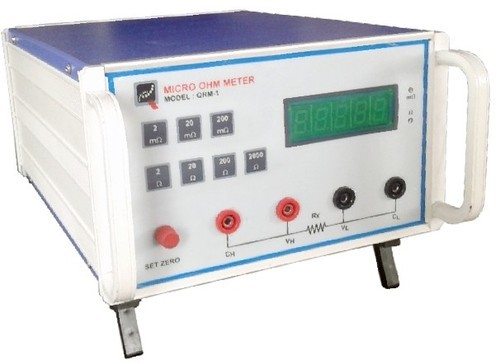 Ohmmeter Good Measurements And A High Low : Dc digital milliohm meter range ohm low resistance tester