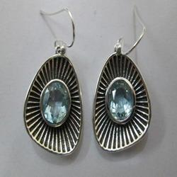 925 Silver Gemstone Earrings