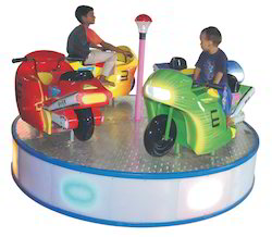 Bike Merry Go Round Amusement Game