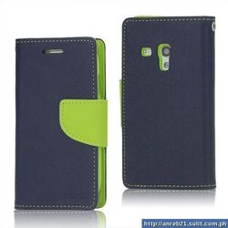 Wallet Type Leather Mobile Cover